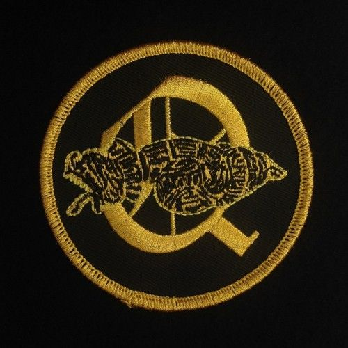 Order of Quetzalcoatl Black Gold Embroidered Patch