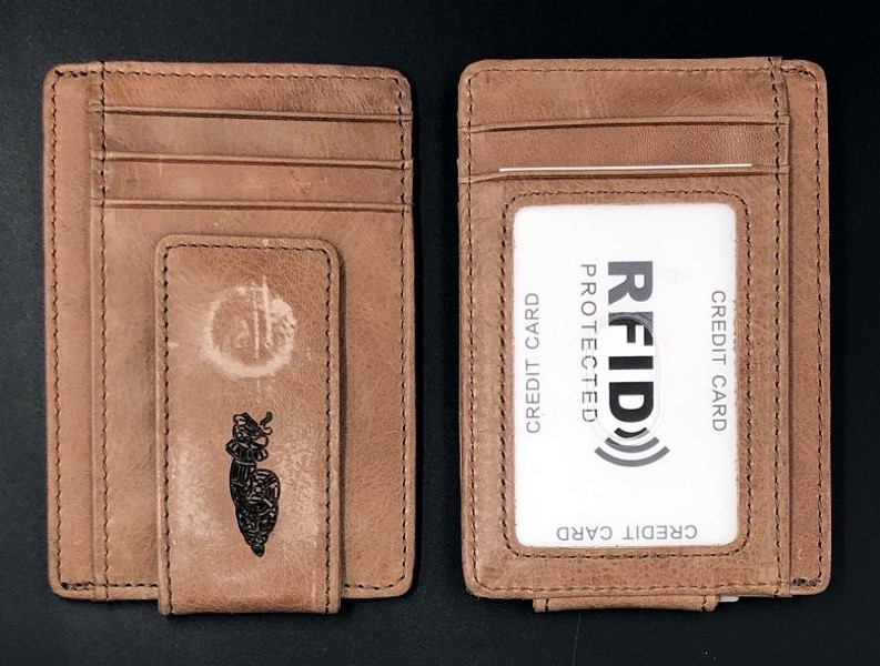 Order of Quetzalcoatl Leather Minimalist Wallet