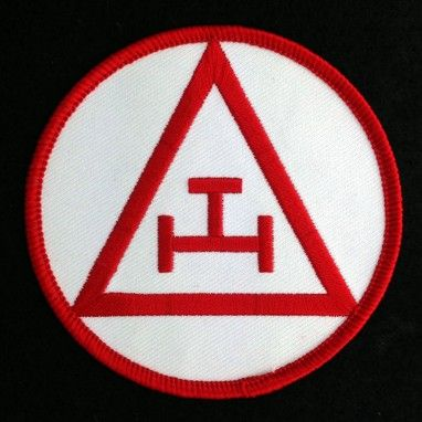 Royal Arch Mason Embroidered Patch New
