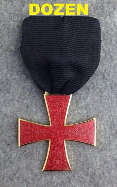 Knight Templar Order of the Red Cross Jewel New