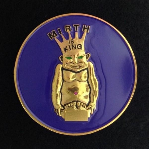 Royal Order of Jesters Purple Auto Emblem New