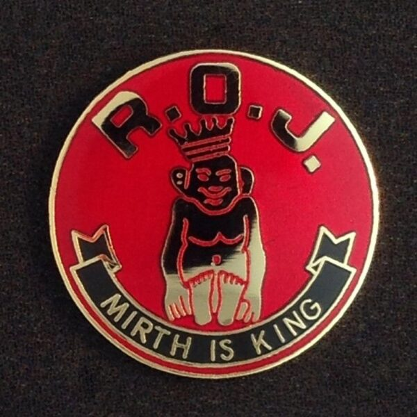 Royal Order of Jesters Lapel Pin New