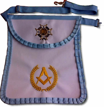 Custom Masonic Apron Fratline