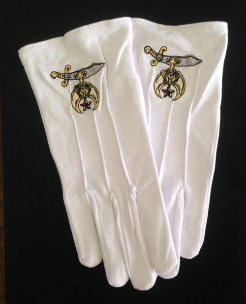 Shrine Shriner Gloves New For Sale