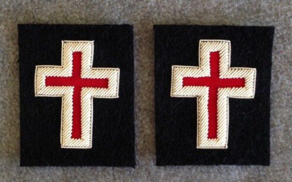 Knight Templar Sleeve Cross Silver Bullion New
