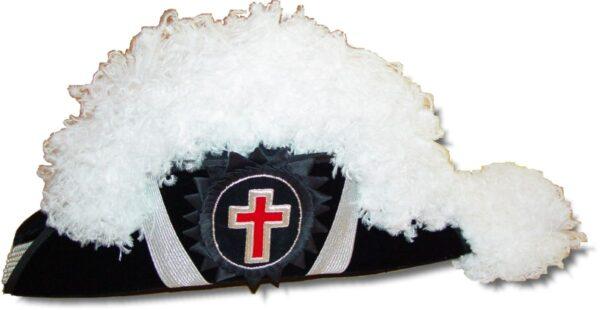 Knight Templar Chapeau Hat New For Sale