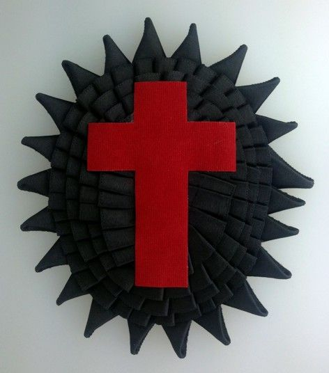 Knight Templar Chapeau Rosette Illinois New