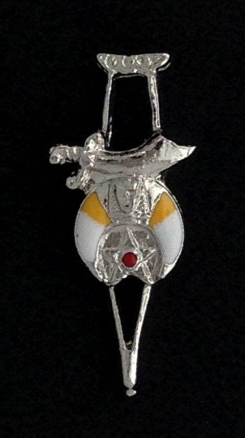 Shrine Shriner Crutch Lapel Pin New