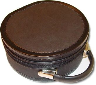 Scottish Rite Cap Crown Hat Case Black
