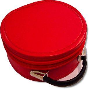 Scottish Rite Cap Crown Hat Case Red