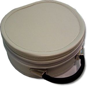 Scottish Rite Cap Crown Hat Case White