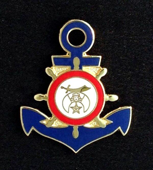 Shrine Shriner Boat Yacht Club Lapel Pin New