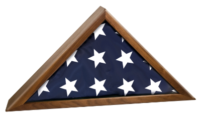 US Flag Display Case New For Sale