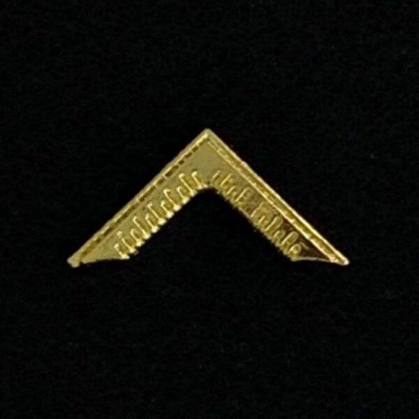Masonic Worshipful Master Lapel Pin Gold New