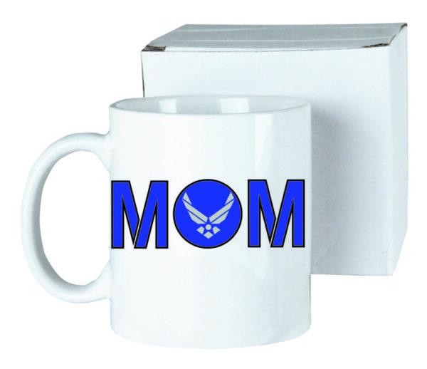 US Air Force Mom Ceramic Coffee Mug New