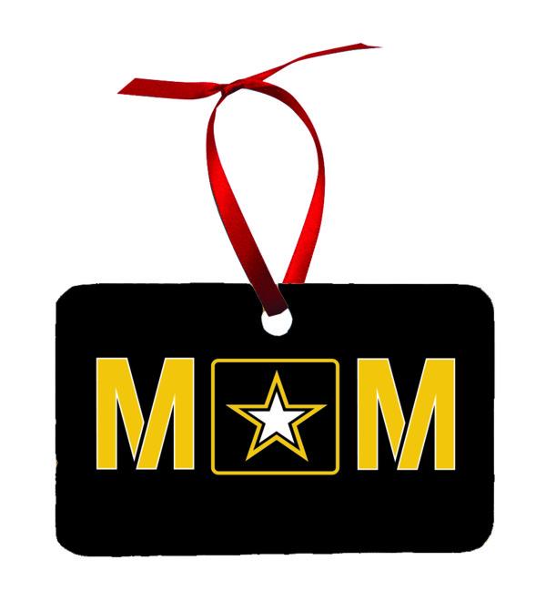 US Army Mom Christmas Ornament New