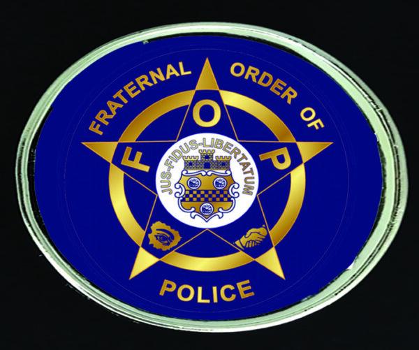 Fraternal Order of Police Belt Buckle