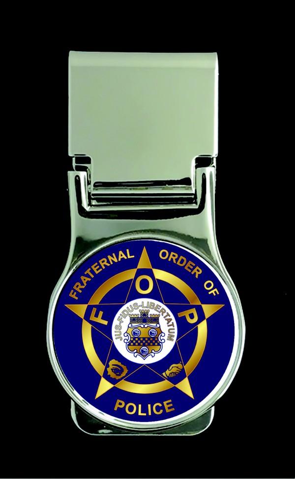Fraternal Order of Police Money Clip