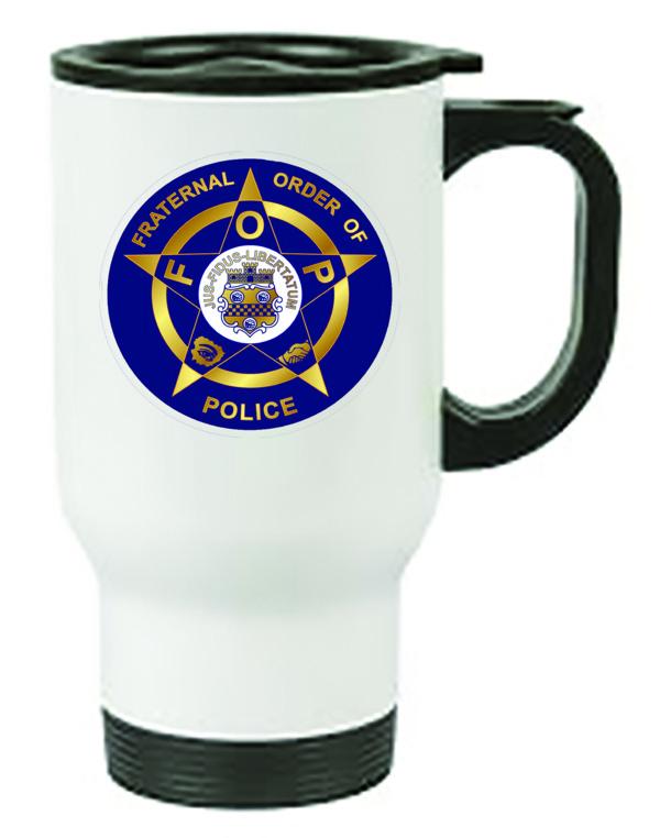 Fraternal Order of Police Insulated Travel Mug