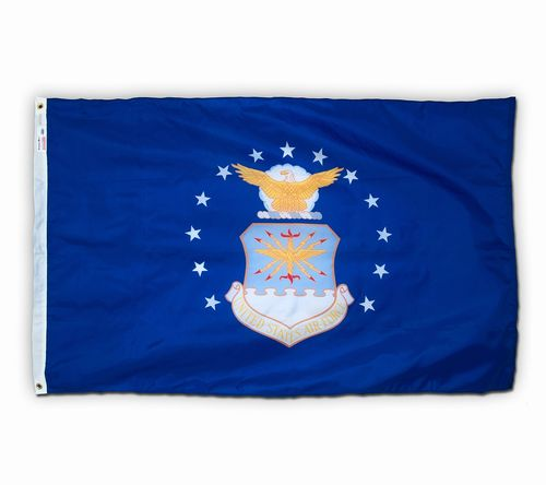 U.S. Air Force Nylon Keepsake Flag - 3' x 5'