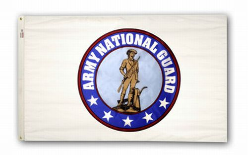 U.S. Army National Guard Nylon Keepsake Flag - 3' x 5'