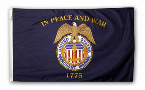 US Merchant Marine Flag New
