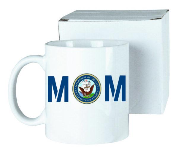 US Navy Mom Ceramic Coffee Mug New