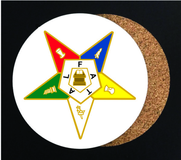Order of Eastern Star Coaster New