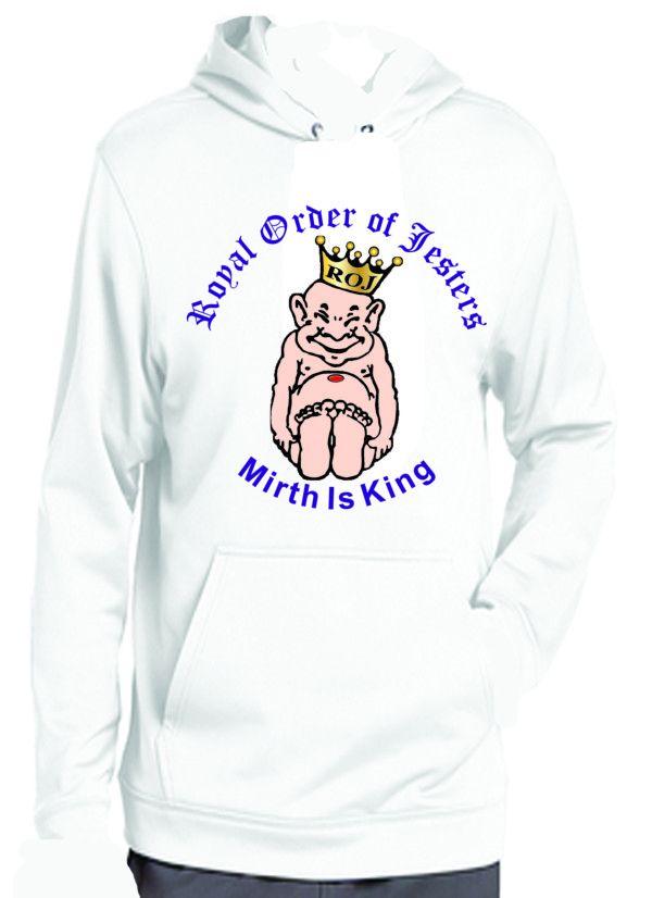 Royal Order of Jesters Sweatshirt Hoodie New