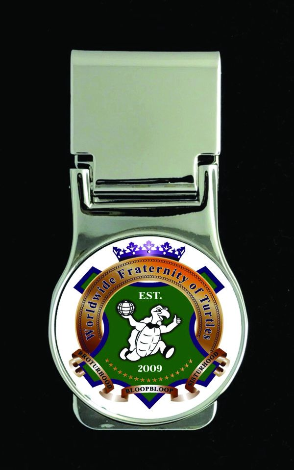 Worldwide Fraternity of Turtles Money Clip New