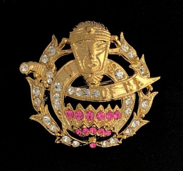 Ladies Oriental Shrine Pin New For Sale