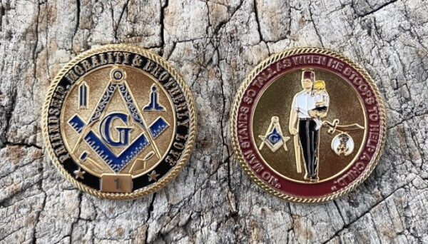 Masonic Shrine Shriner Challenge Coin