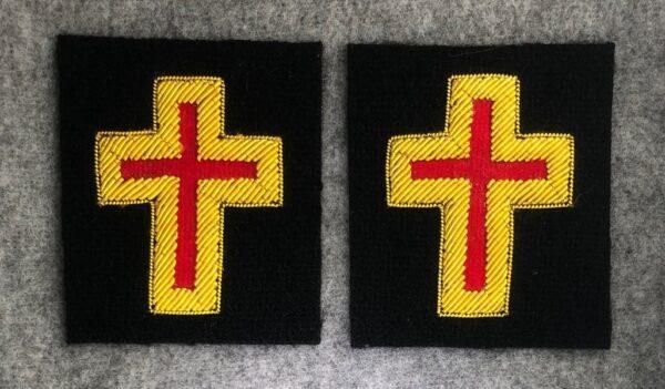 Knight Templar Past Commander Sleeve Cross