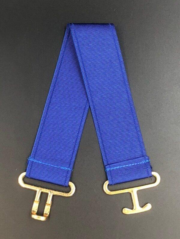 Masonic Apron Belt Extender Blue