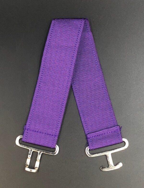 Masonic Apron Belt Extender Purple