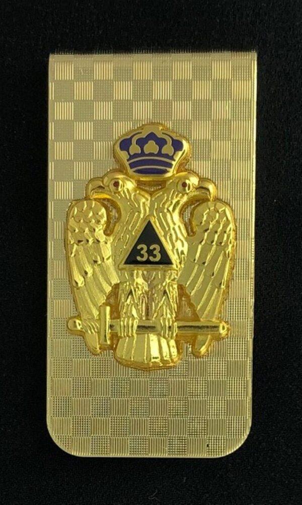 Scottish Rite 33rd Degree Money Clip